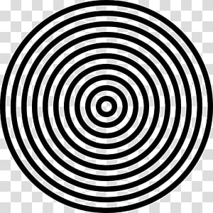 Monochrome Black and white, circulo PNG clipart