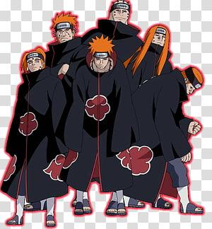 Pain Naruto Uzumaki Sasuke Uchiha Itachi Uchiha Kakashi Hatake, naruto PNG