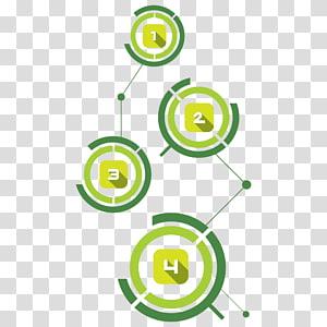 Template Data Technology, PPT element PNG clipart