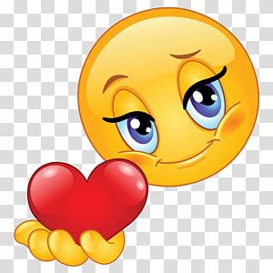 Emoticon Smiley Emoji Heart, smiley PNG