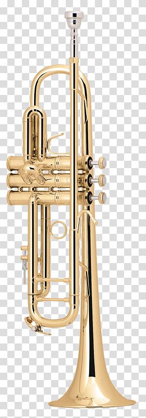 Brass Instruments Trumpet Musical Instruments Vincent Bach Corporation Trombone, Trumpet PNG