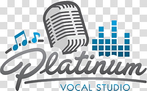 Logo Microphone Singing Human voice Design, microphone PNG