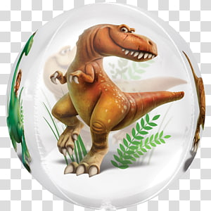 Balloon Dinosaur The Walt Disney Company Apatosaurus Party, balloon PNG clipart