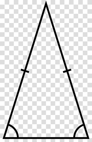 Isosceles triangle Equilateral triangle Acute and obtuse triangles, triangles PNG