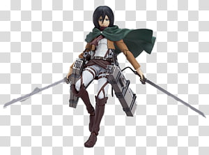 Mikasa Ackerman Eren Yeager Mami Tomoe Erwin Smith Figma, shingeki PNG clipart