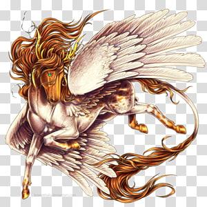 Horse Pegasus Legendary creature Unicorn Medusa, horse PNG