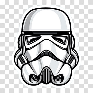 Star Wars Sticker Stormtrooper Lacrosse Protective Gear , star wars PNG