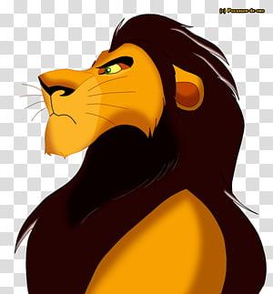 Scar Mufasa Sarabi Simba Lion, lion king PNG