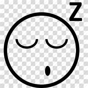 Emoticon Smiley Sleep , Sleeping Emoticon PNG clipart