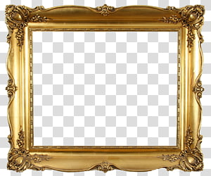 gold-colored frame, frame Decorative arts Mirror Interior Design Services Furniture, Golden frame PNG clipart