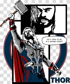 Thor: God of Thunder Captain America Loki Comics, thor comics PNG clipart