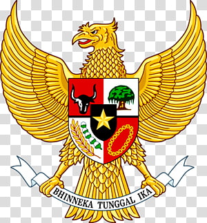 National emblem of Indonesia Garuda Pancasila Coat of arms, symbol PNG clipart