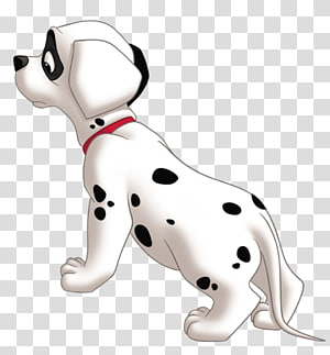 Dalmatian dog The Hundred and One Dalmatians Cruella de Vil Puppy , lucky PNG