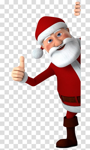 lovely santa claus PNG clipart