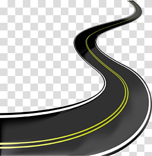 highway illustration, Road Asphalt concrete , road PNG clipart