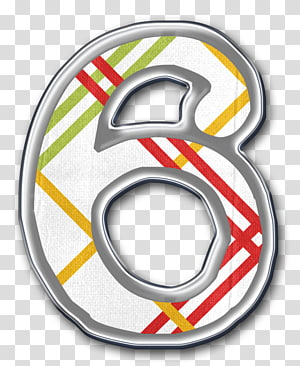 Number Numerical digit Icon, Number 6 PNG clipart