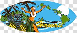 Hawaiian Aloha Beach Wood, hawaiian girl PNG