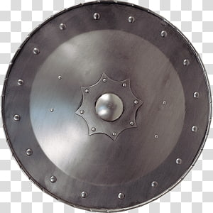 Middle Ages Round shield Targe Knight, knives PNG