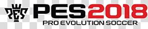 PES 2018 logo, Pro Evolution Soccer 2018 Pro Evolution Soccer 2019 Pro Evolution Soccer 2017 First Touch Soccer Dream League Soccer, football PNG clipart