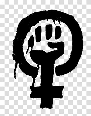 Raised fist Feminism Girl power Black Power Symbol, symbol PNG clipart