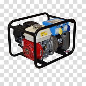 Engine-generator Diesel generator Electric generator Gasoline Diesel fuel, generator PNG clipart
