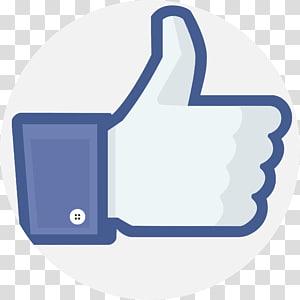 Social media Thumb signal Facebook like button, social media PNG clipart