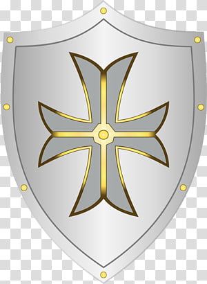 Middle Ages Shield Coat of arms , shield design PNG
