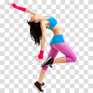 women's blue sports bra, Zumba Dance Fitness Centre Physical fitness Physical exercise, Fitness Center PNG