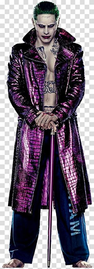 Jared Leto Suicide Squad Joker Harley Quinn Deadshot, joker PNG