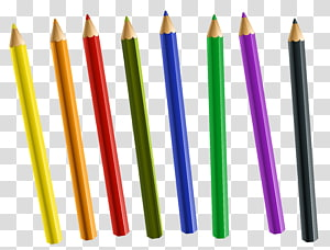 Colored pencil Writing implement, pencil PNG clipart