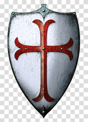 Middle Ages Crusades Knights Templar Shield, Knight PNG