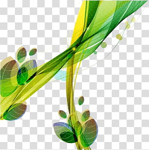 Leaf Green, Green lines PNG clipart