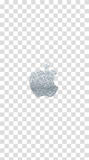 Black and white Ring Gift Pattern, Apple logo PNG clipart