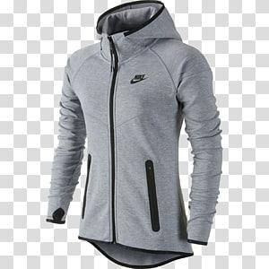 Hoodie Outerwear Polar fleece Jacket Nike, Hoodie PNG