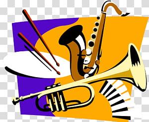 Musical ensemble Big band Concert band School band, musical instruments PNG