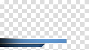 blue banner, Rectangle Brand, lower third PNG clipart