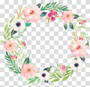 drawing circular wreath 14 PNG clipart