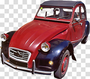 Fillmore Cars , Red vintage car PNG clipart