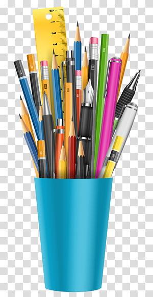 Pen & Pencil Cases Glass Marker pen, pencil PNG clipart
