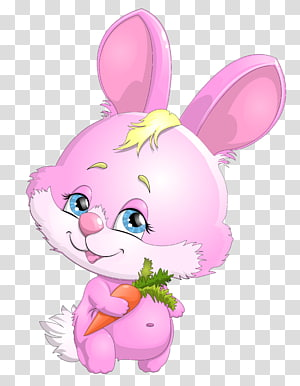 Easter Bunny Hare Rabbit Cartoon , bunny PNG clipart
