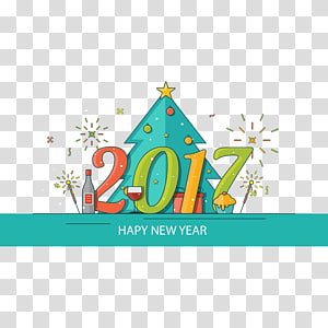 New Year\'s Day Happiness Chinese New Year Lunar New Year, New Year illustration PNG clipart