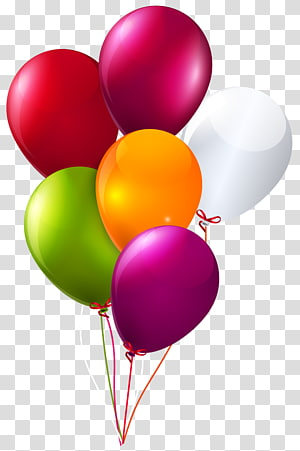 illustration of balloons, Balloon Birthday Party , baloons PNG
