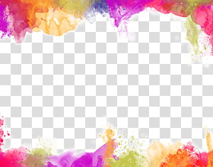 color painting watercolor splash background PNG clipart