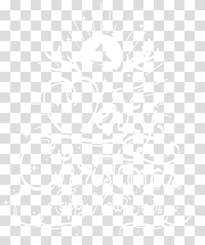 Black and white Angle Point Pattern, Merry Christmas and Happy New Year PNG