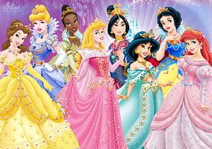 Princess Aurora Rapunzel Belle Ariel Cinderella, Princesses PNG clipart