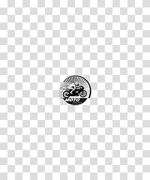 Black and white Text Illustration, Motorcycle logo PNG clipart