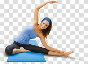 woman doing yoga on mat, Physical exercise Weight loss Physical fitness Dieting Woman, excersice PNG