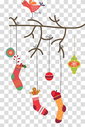 Santa Claus Christmas card Gift, Christmas PNG clipart