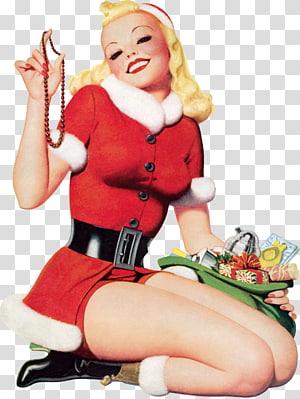 Betty Boop Desktop Christmas , pinup PNG clipart