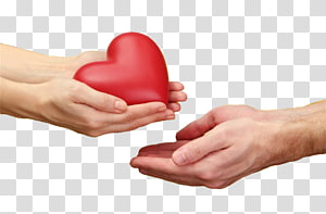 Advertising Poster, Holding a red heart PNG clipart